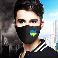 Многоразовые защитные маски (респираторы) на лицо с национальной символикой