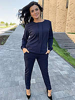 Стильный женский костюм с брюками