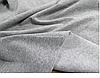 Утепленные брючки больших размеров на манжете качкорсе светло-серая трехнитка на флисе, фото 4