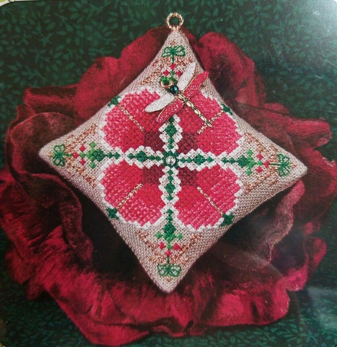 Схема Just Nan Christmas Dragon Ornament