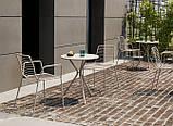 Крісло  металеве для кафе,ресторану Summer SCAB 57х55,5х80см, фото 4