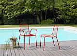 Крісло  металеве для кафе,ресторану Summer SCAB 57х55,5х80см, фото 5