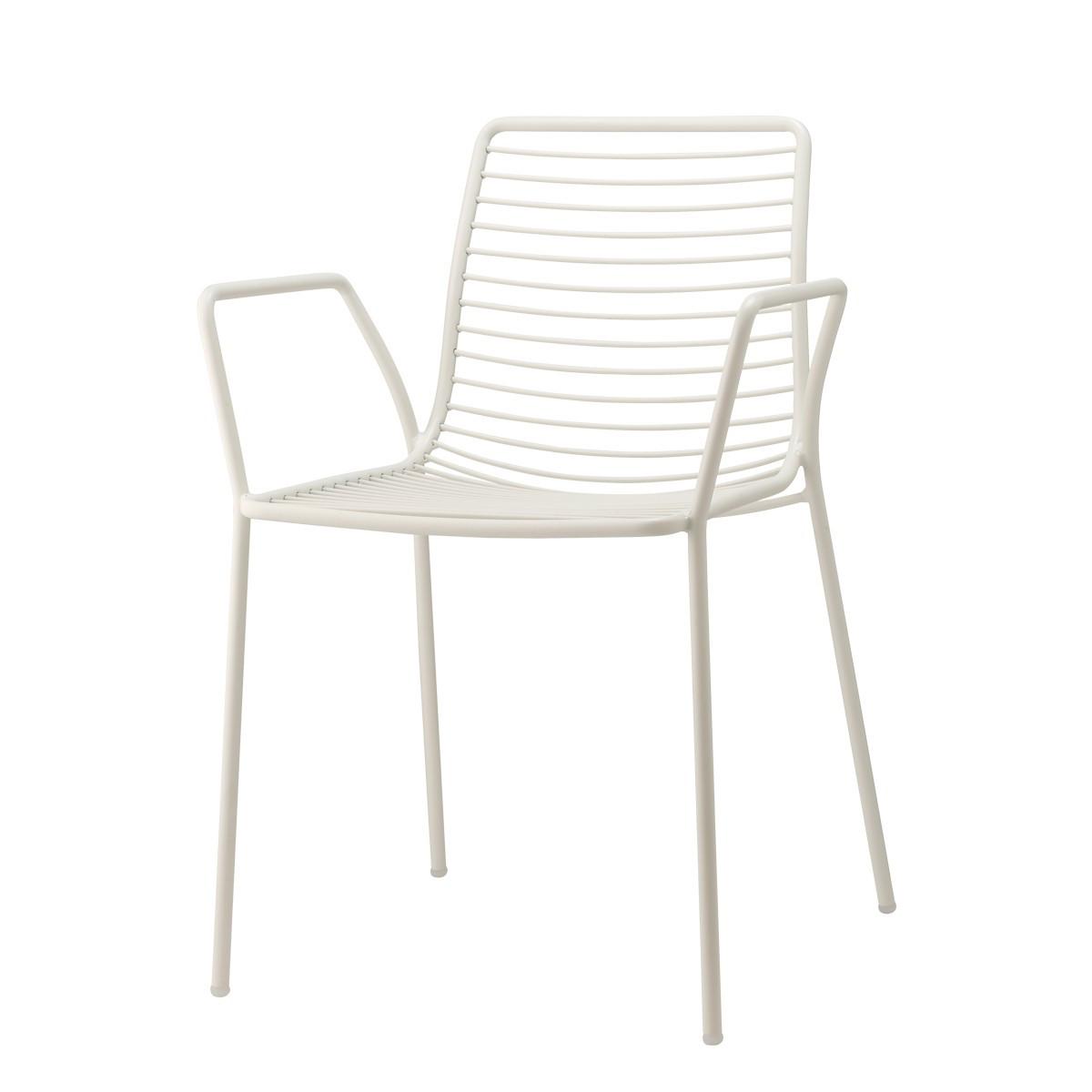 Крісло  металеве для кафе,ресторану Summer SCAB 57х55,5х80см