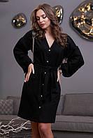 Платье 12-1315 - черный:  S М L XL, фото 1