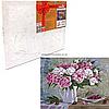 Картина по номерам Идейка «Пионы и вишни» 40x50 см (КНО2061)