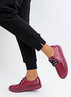 Туфлі жіночі Sandalino (GM) шкіра, гума малинові, розмір 37