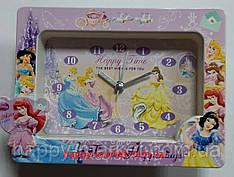 Часы-будильник №CS602A Принцессы (10*15)