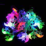 "Гирлянда светодиодная VENOM ""Полумесяц"" 20LED RGB, прозрачный провод (LS-CRESCENT-20LED-WC-RGB), фото 3"