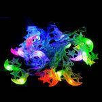 "Гирлянда светодиодная VENOM ""Полумесяц"" 20LED RGB, прозрачный провод (LS-CRESCENT-20LED-WC-RGB), фото 2"