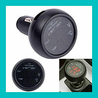 Термометр-вольтметр VST 706-1!Акция, фото 1