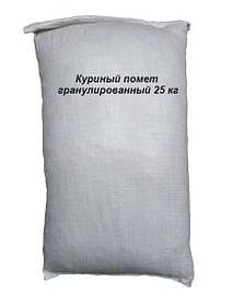 Куриный помет гранулированный 25 кг Экоферм