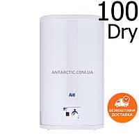 Бойлер 100 литров ARTI WH FLAT M DRY 100L/2 л, электрический накопительный водонагреватель с сухим теном
