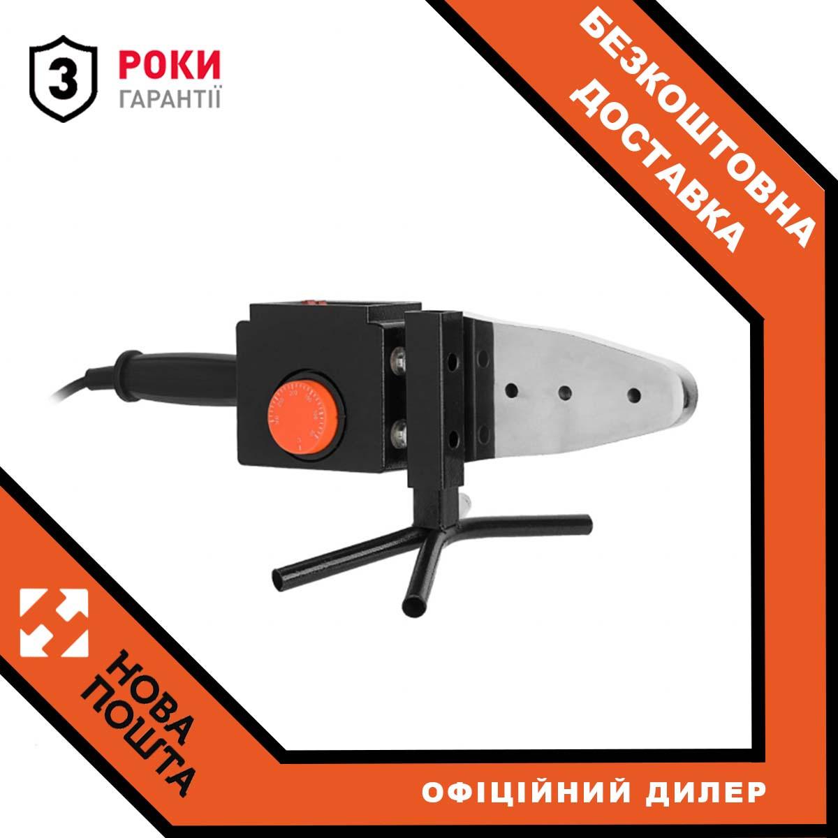 Паяльник для пластикових труб Dnipro-M PW-185