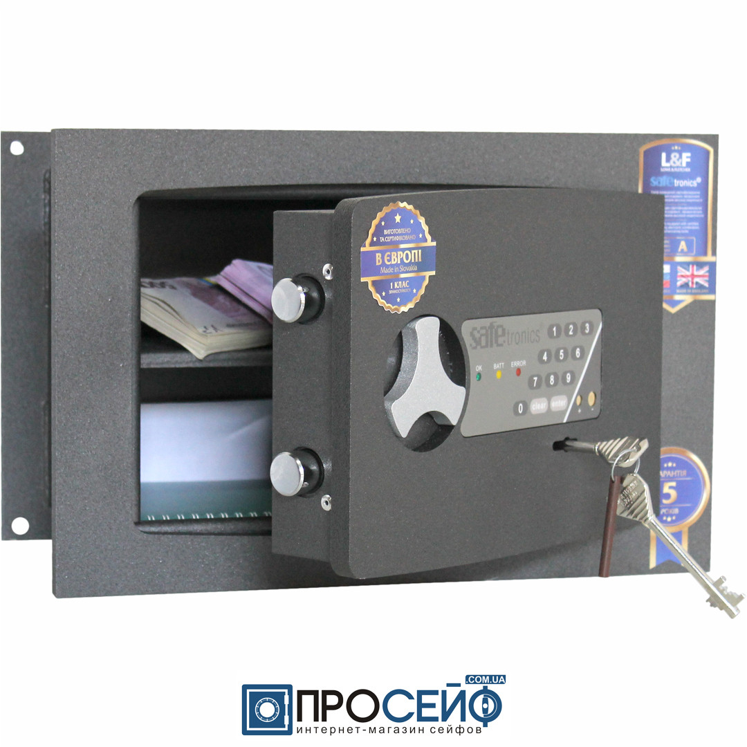 Встраиваемый сейф Safetronics STR 20ME
