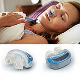 Фильтр для носа 2 в 1 Anti Snoring and Air Purifier-синий. Антихрап, фото 3