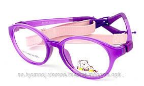 Детская пластиковая оправа BomiBear 8111 Фиолетовый