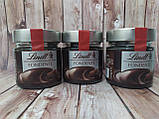 Шоколадная паста (экстра чёрный) Lindt, фото 3