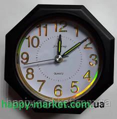 Часы-будильник №JS-549 Шестигранник