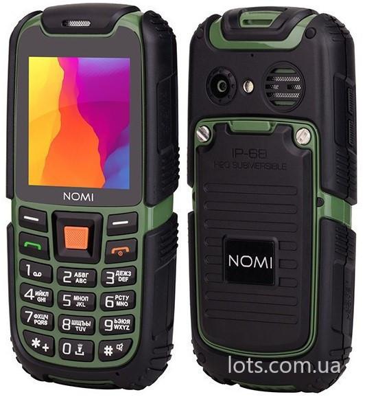 Противоударный Телефон Nomi i242 (2-SIM) IP68