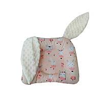 Подушка дитяча для немовлят з вушками