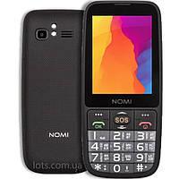 Мобильный Телефон Nomi i281 Black (2-SIM) - Бабушкофон