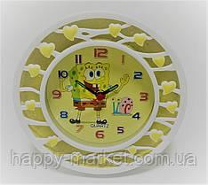 Часы-будильник №XY-6006 Много сердечек (12*12)