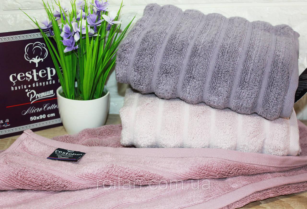 Банные турецкие полотенца Cestepe EZGI