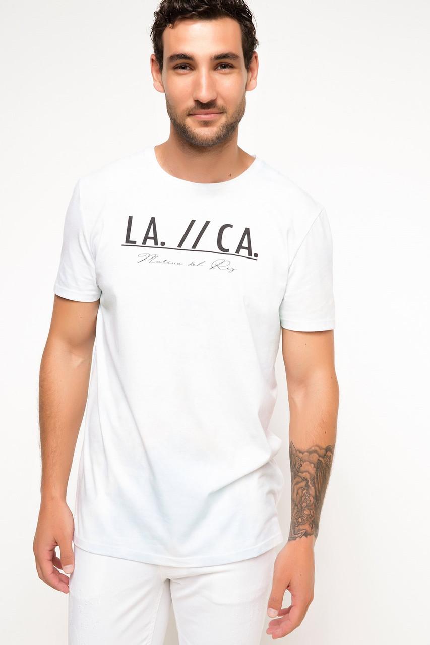 Мужская футболка defacto размер м известный турецкий бренд