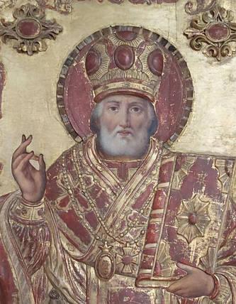 Икона Николая Чудотворца 18 век, фото 2