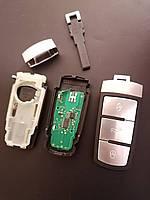 Корпус ключа с чипом и платой VW Passat B6 B7 CC