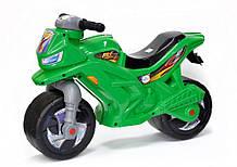 Мотоцикл музичний Орион зелений толокар каталка