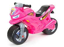 Мотоцикл Орион розовый перламутр беговел торлокар каталка