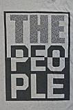 Фирменная мужская футболка defacto с надписью the people размер м, фото 4