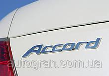 Емблема напис багажника Honda Accord