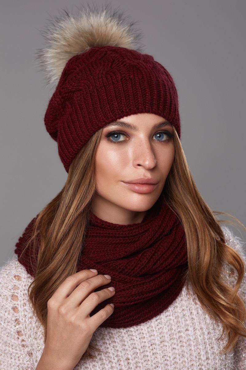 Зимовий жіночий комплект Шакіра