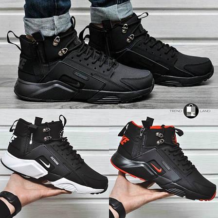 Мужские демисезонные кроссовки в стиле Nike Huarache Acronym Concept 3 цвета в наличии, фото 2