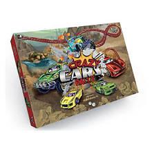 Настольная игра мал Бродилка Crazy Саrs Rally кубик фишки