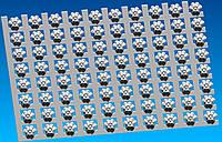 Гипсовая плитка (1000*804*h22), розетка гипсовая, гипсовый декор, лепнина, лепной декор,