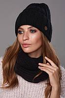 Зимовий жіночий комплект Стелла Чорний