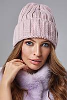 Зимовий жіночий комплект Стелла Пудра