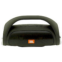 Портативная Bluetooth колонка JBL Boombox mini ЧЕРНАЯ + ПОДАРОК: Держатель для телефонa L-302