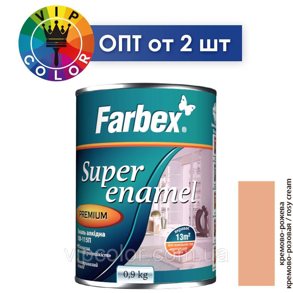 Farbex эмаль алкидная ПФ-115П - кремово-розовая, 2.8 кг
