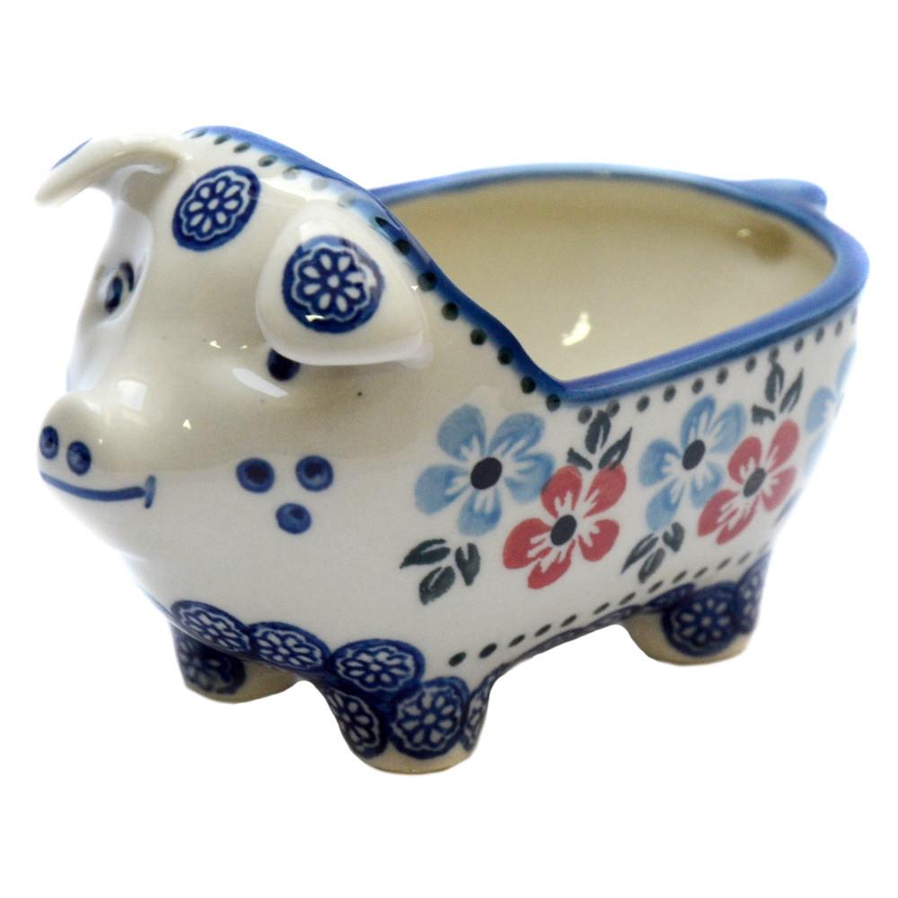 Керамическая форма Свинка для соусов и дипов Bloom