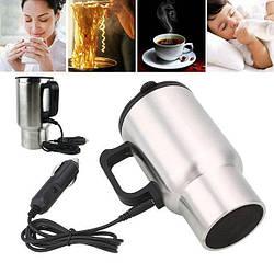 Электрическая автокружка от прикуривателя Electric Mug, термокружка в машину, Чайник от прикуривателя