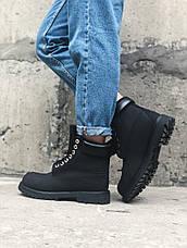 Женские зимние меховые ботинки в стиле Timberland Boots 2 цвета в наличии, фото 3