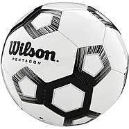 М'яч футбольний ігровий Wilson Pentagon Soccer Ball розмір 5, фото 2