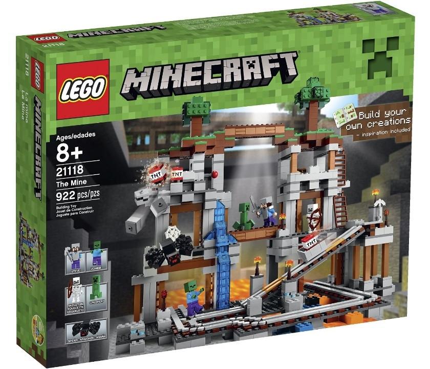 Lego Minecraft Шахта 21118