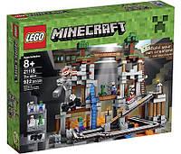 Lego Minecraft Шахта 21118, фото 1
