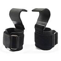 Кистевые крючки на запястья для тяги и турника крюки для перекладины лямки с крюком для подтягивания |