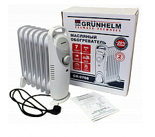 Масляний обігрівач на 7 секцій Grunhelm GR-0708 800 Вт
